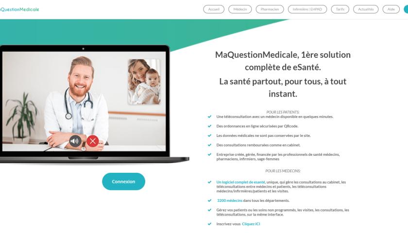 ma question médicale site internet